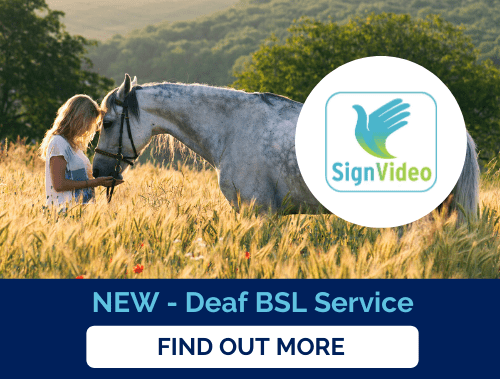 new deaf bsl service